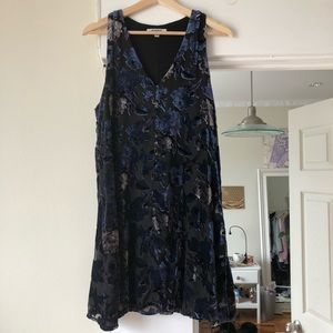 Glottal velvet BB Dakota dress